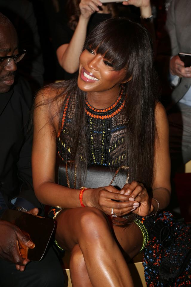 Paris Fashion Week: Naomi Campbell