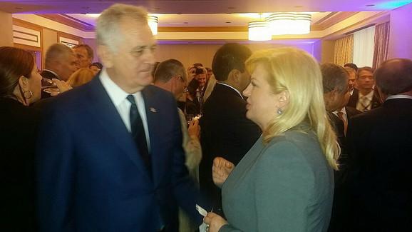 Tomislav Nikolić i hrvatska predsednica o sutrašnjem samitu razgovarali u Njujorku krajem septembra