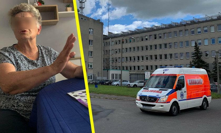 Nowy Szpital w Świeciu odmówił przyjęcia ciężko chorego męża pani Danuty i odesłał ich do Bydgoszczy