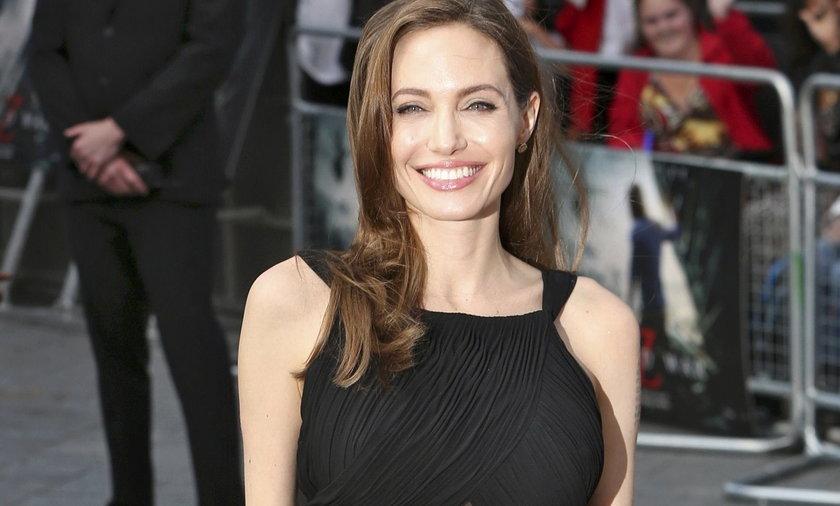 """Angelina Jolie na premierze filmu """"World War Z"""""""
