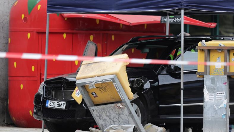 Wypadek w Berlinie