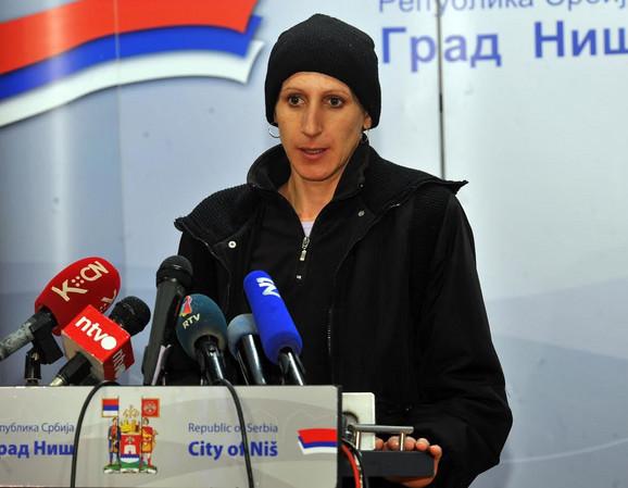 Violeta Petrović danas je razgovrala sa gradonačelnikom Niša