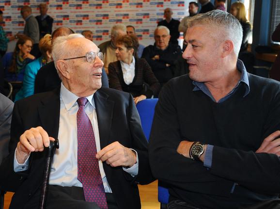 Bora Stanković i Predrag Danilović