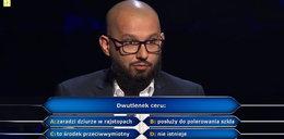 """""""Milionerzy"""" dobra passa Dawida z Opola! Dzięki odpowiedzi na pytanie o dwutlenek ceru zbliżył się do miliona"""