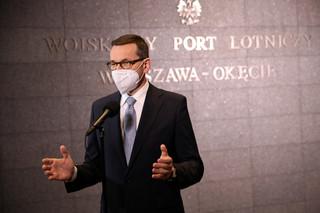 Morawiecki po spotkaniu z Macronem: Wzywamy KE, żeby egzekwować pozyskanie szczepionek