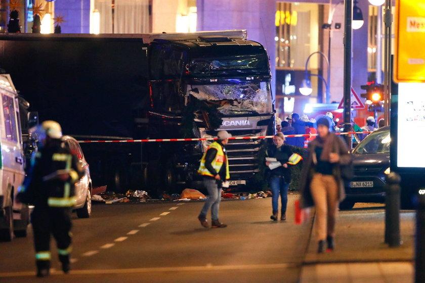 Polska ciężarówka wjechała w tłum ludzi w Berlinie