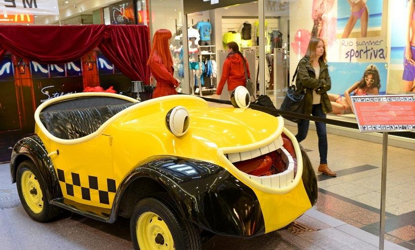 Bajkowe samochody
