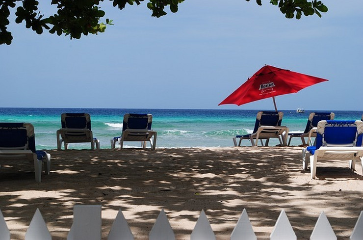 Barbados plaža