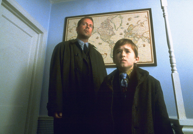 "Brus Vilis i Hali Džoel Osmet u filmu ""Šesto čulo"""