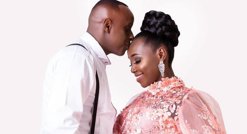 Kate actress and Hubby Phillip Karanja acquire a brand new BMW days after welcoming Baby K into their family