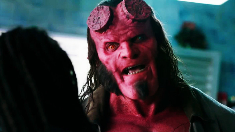 David Harbour, mint Hellboy!