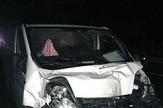 NIS04 Kombi koji je udario u golf kod Aleksinackog Bujmira na auto putu privatna arhiva