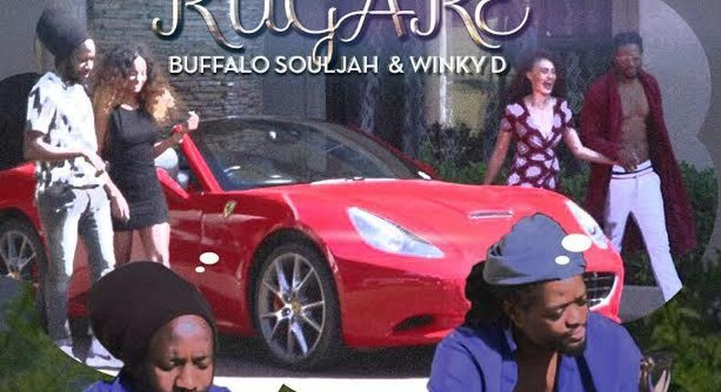 Buffalo Souljah featured Winky D on the track, 'Rugare' which is off his EP titled Born Again.