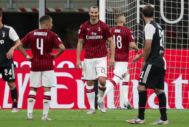 Osmeh Zlatana Ibrahimovića nakon pogotka sa penala