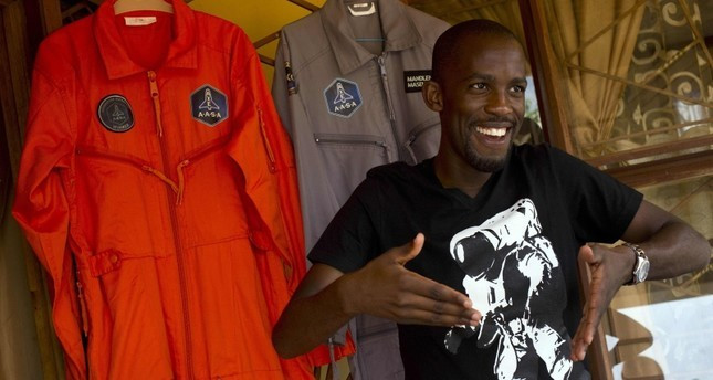 Mandla Maseko was set on becoming the first African to make it to space (Alexander Joe/AFP/Getty Images)