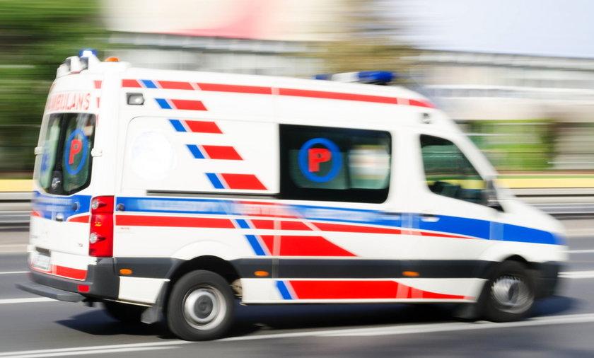 Pijana 29-latka przewoziła karetką pacjenta.