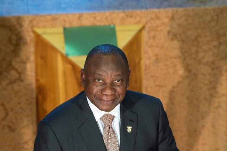 President Cyril Ramaphosa will be hoping Mboweni's speech treads a fine enough line to help him win a sixth term for the ANC