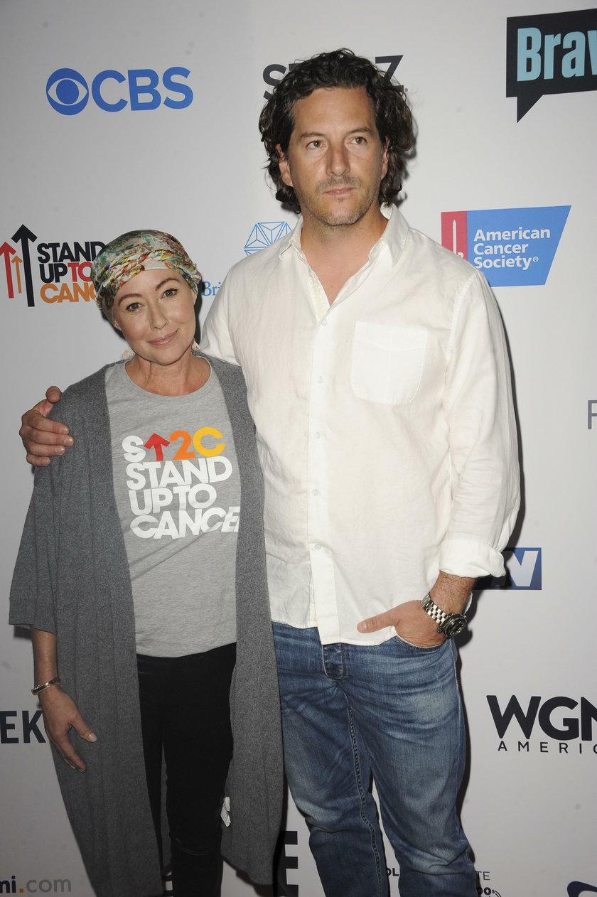 Shannen Doherty z mężem