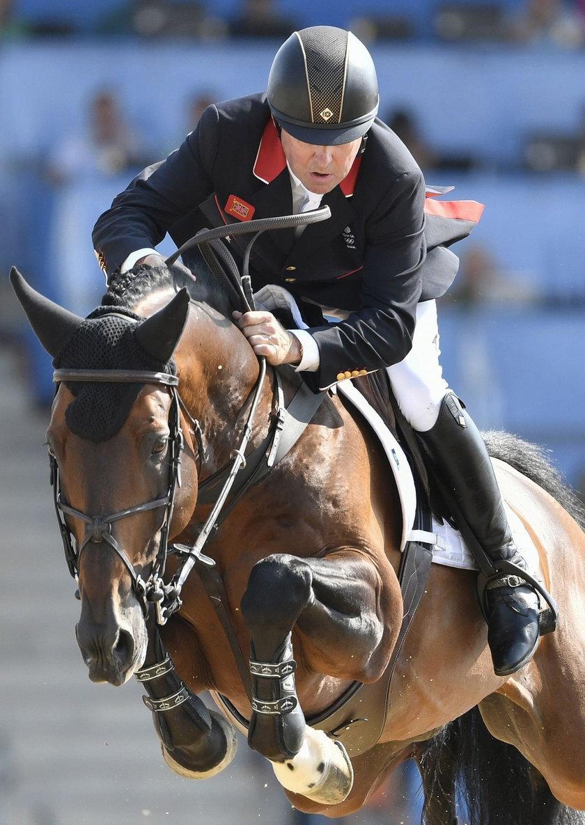 Rio 2016:Nick Skelton ma 58 lat, endoprotezę i... olimpijskie złoto!