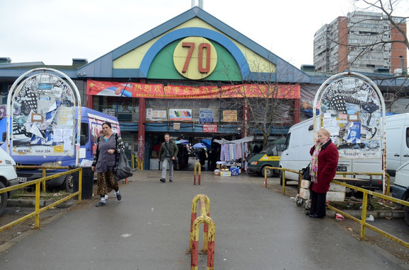 Stari deo tržnice u Bloku 70