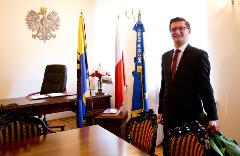 Katowice. Marcin Krupa prezydent Katowic w delegacji do Kataru