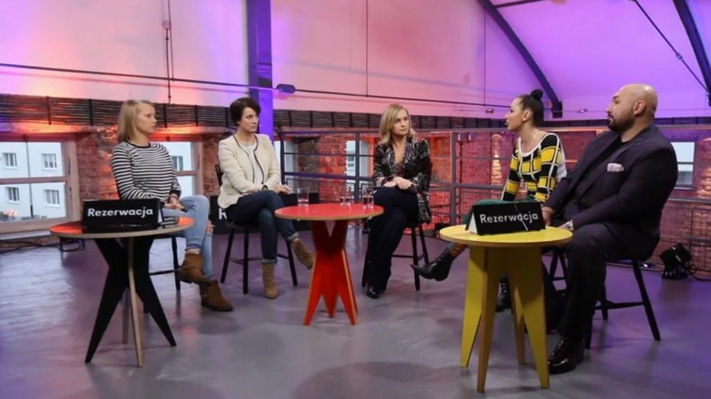 Rezerwacja: Jolanta Janiczak, Patryk Vega, Maja Ostaszewska, Joanna Kulig