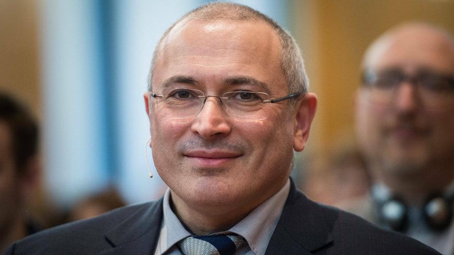 Michaił Chodorkowski (fot.), były oligarcha i krytyk prezydenta Rosji Władimira Putina