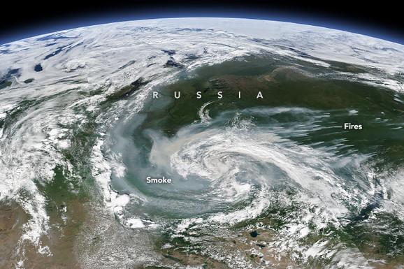 Dim iznad Rusije, 21. jul