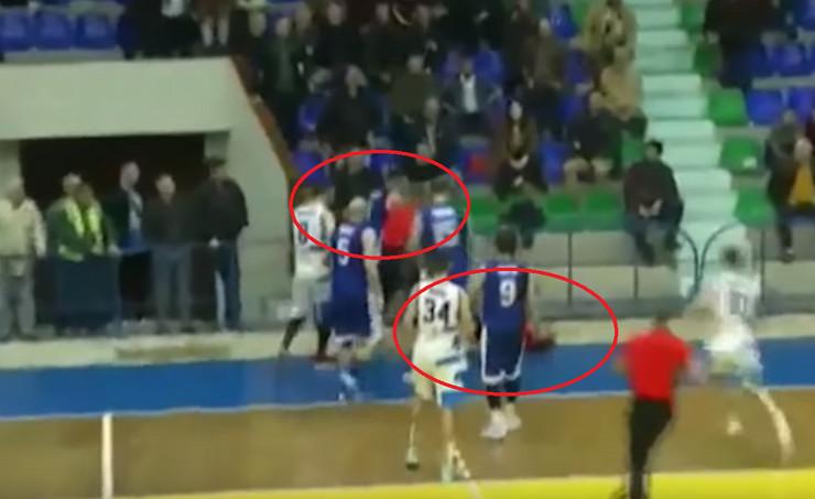 Albanija košarkaš