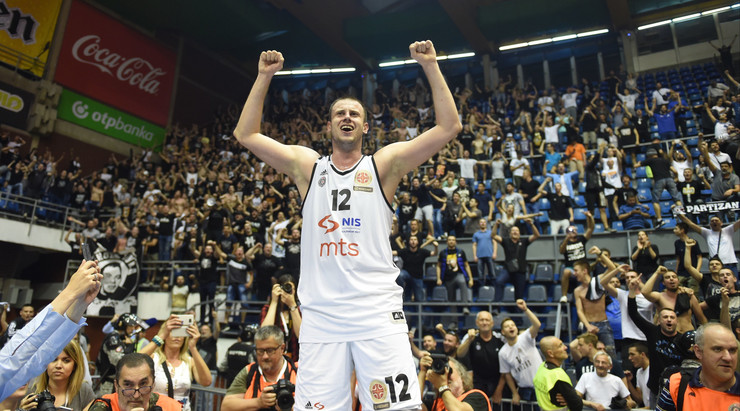 Novica Veličković, KK Partizan