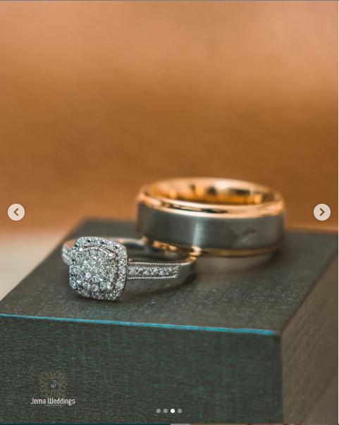 Sadat and Nadia's rings