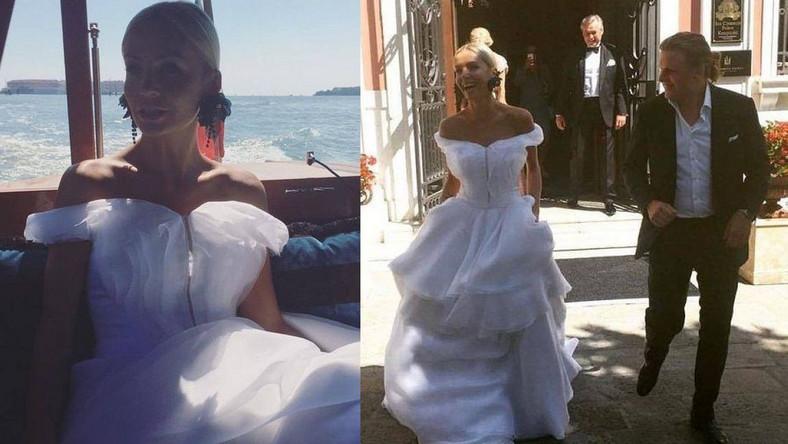 Zdjęcia z bajkowego ślubu Agnieszki i Piotra pokazała siostra pana młodego, Julia Starak.
