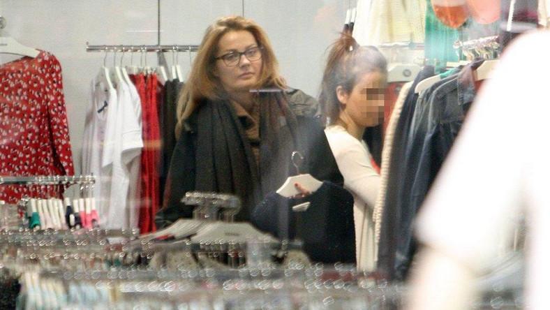 Małgorzata Socha przyłapana bez makijażu na zakupach