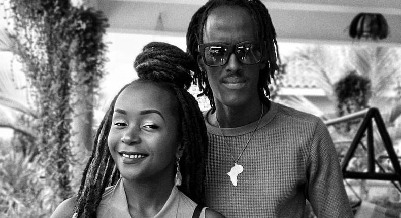Ann Kansiime with her Boyfriend