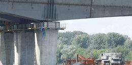 Wypadek na budowie mostu. Robotnik nie przeżył