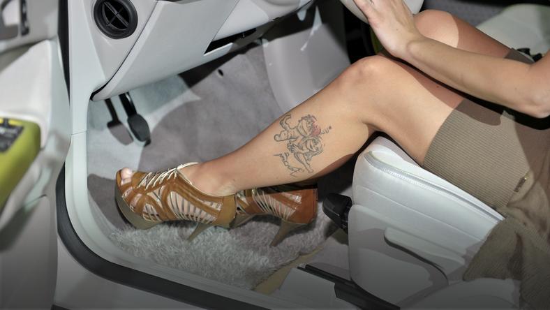 Znane Polki Z Tatuażem Na Nodze Moda