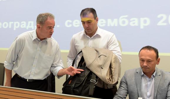 Zoran Lutovac i Saša Paunović