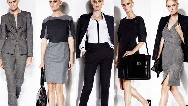 W linii Business znajdziemy klasyczne fasony takie jak garnitury i eleganckie sukienki, których detale zdradzają pasję do mody.
