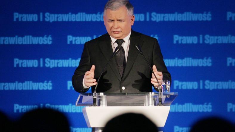 Kaczyński chce mniej publicznych pieniędzy