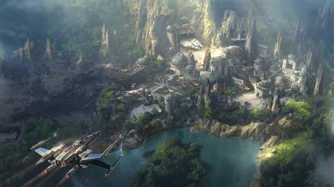 Tak wygląda szkic parku Star Wars Land