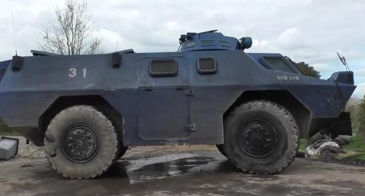 oklopno vozilo francuske žandarmerije