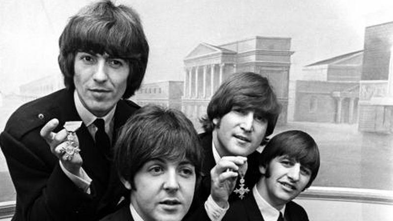 The Beatles (fot. oficjalna strona zespołu)