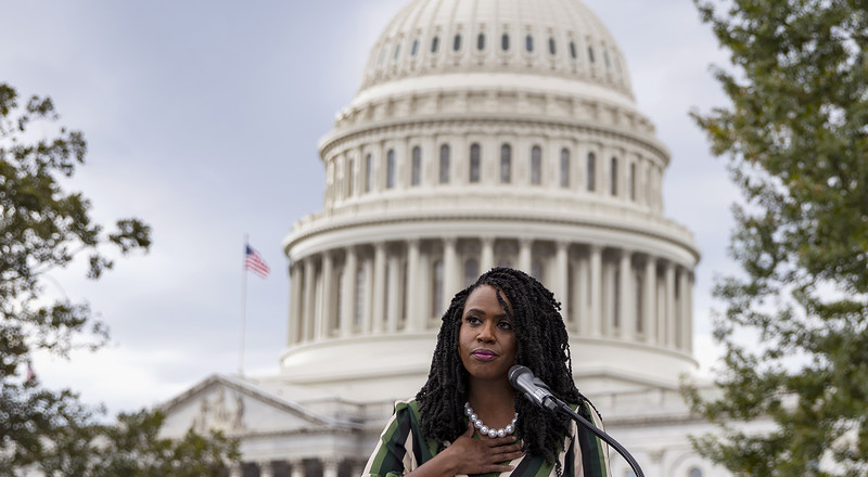 Ayanna Pressley Opens Up About Living With Alopecia and Hair Loss