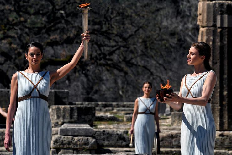 Paljenje olimpijskog plamena