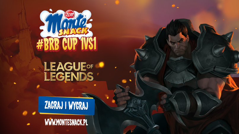Monte Snack #BRB Cup 1v1 League of Legends