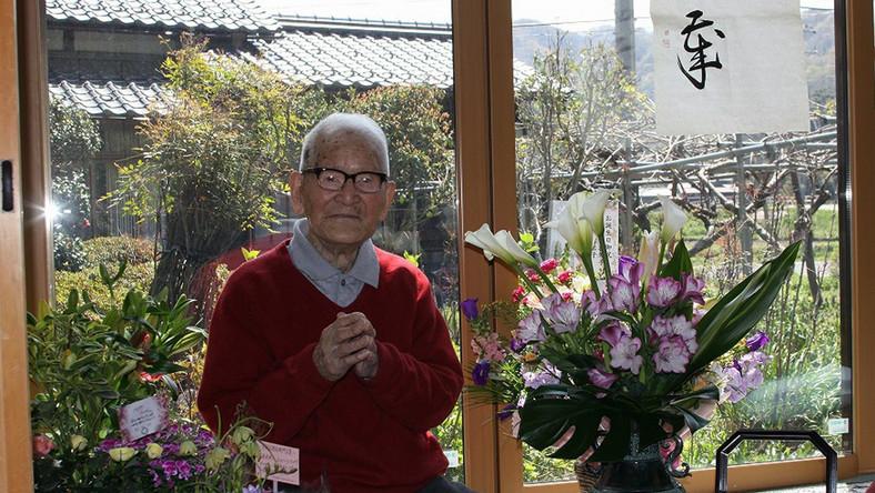Jirouemon Kimura był bardzo aktywny do 90. roku życia