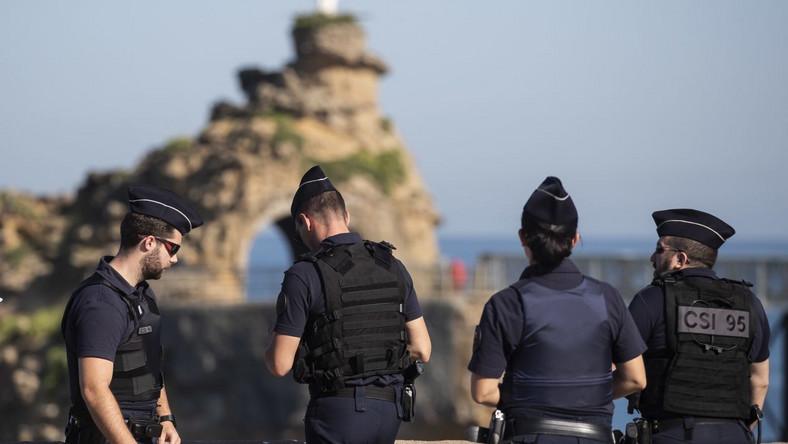 Policjanci i żandarmi w Biarritz
