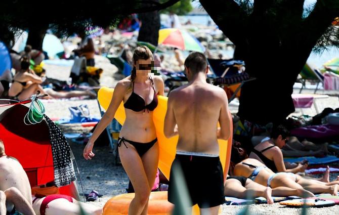 Krcato na hrvatskoj plaži