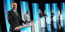 Kandydaci tuż po debacie prezydenckiej w TVP