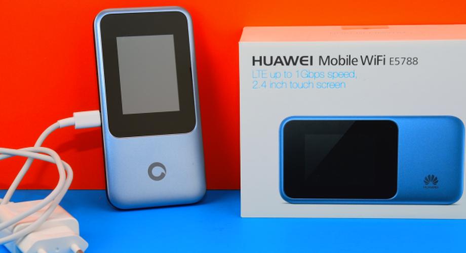 Test Huawei E5788: Gigabit-LTE-Router für die Hosentasche